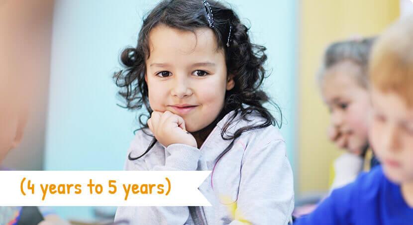 Kindy – 4 to 5 years